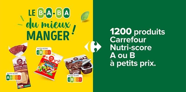 Tentez de tester gratuitement des produits Carrefour avec TRND