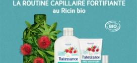 Test Natessance : Routines capillaires au ricin Bio gratuites