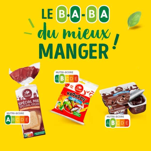 Test Carrefour : Coffrets B.A-BA Mieux Manger gratuits