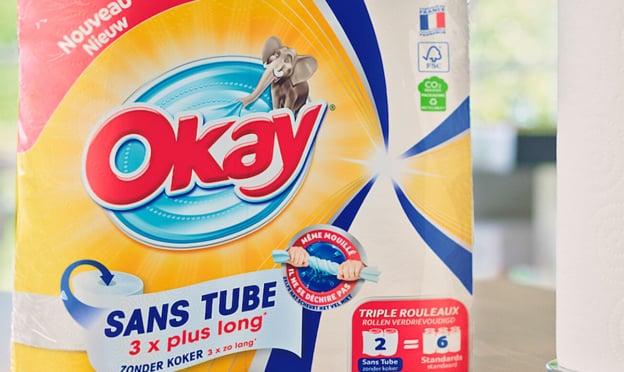 Test Okay : Packs d'essuie-tout sans tube gratuits