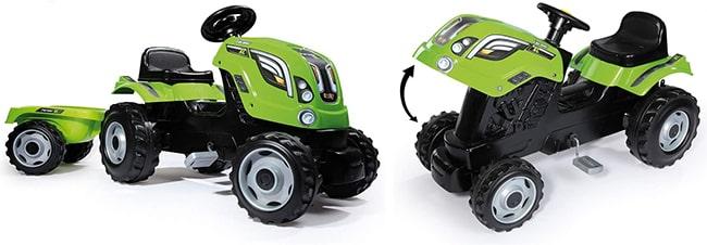 Tracteur à pédale Farmeur XL avec remorque à petit prix