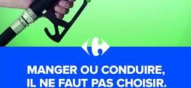 Carrefour : 25 litres de carburant achetés = 5€ de remise