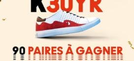 Jeu anniversaire Kinder Bueno : Sneakers à gagner