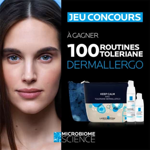 Jeu La Roche-Posay : Routines Toleriane Dermallergo à gagner