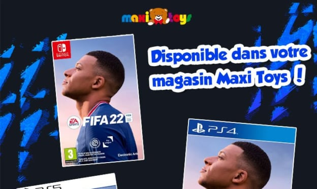Jeu Maxi Toys : Jeux FIFA 22 à gagner