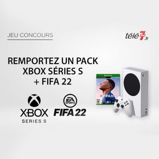 Jeu Télé7.fr : Packs Xbox Series S Fifa 22 à gagner