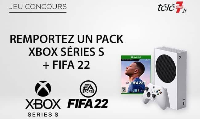 Tentez de remporter un pack Xbox Series S FIFA22