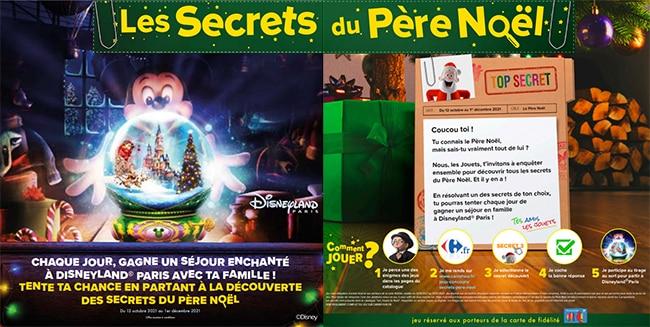 Gagnez un séjour à Disneyland Paris avec votre carte Carrefour
