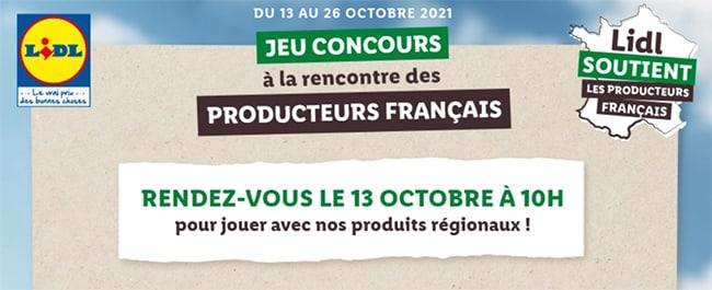 Gagnez un week-end bien-être avec les producteurs français de Lidl