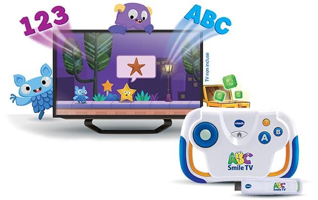 Testez gratuitement la console ABC Smile TV VTech avec Sampleo
